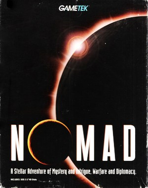 Nomad DOS front cover