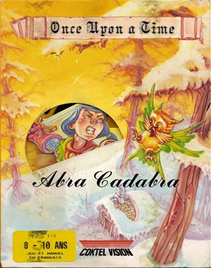 Once Upon a Time: Abracadabra DOS front cover