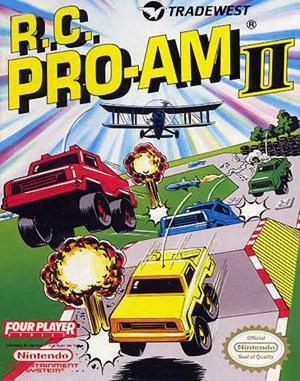 R.C. Pro-Am II NES  front cover