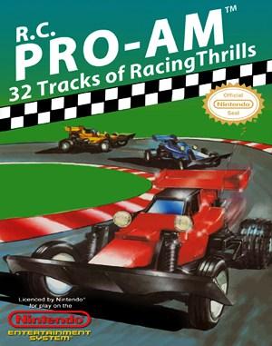 R.C. Pro-Am NES  front cover