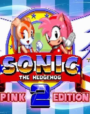 Sonic the Hedgehog 2: Pink Edition Sega Genesis front cover