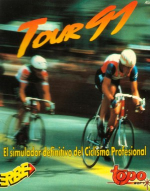 Tour 91 DOS front cover