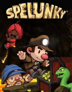 Spelunky WINDOWS front cover