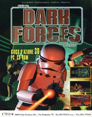 Star Wars: Dark Forces (CD) DOS front cover