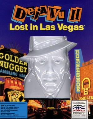 Déjà Vu II: Lost in Las Vegas DOS front cover