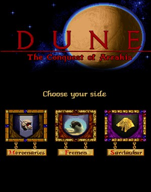 Dune 2 eXtended DOS front cover