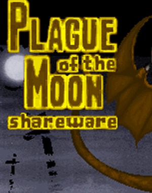 Plague of the Moon DOS front cover