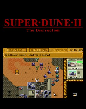 Super Dune II: Classic DOS front cover