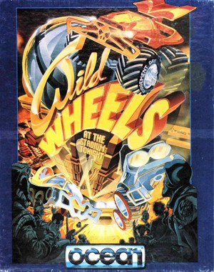 Wild Wheels DOS front cover
