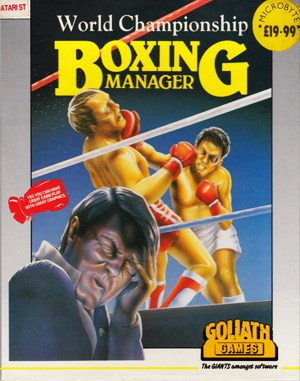 World Championship Boxing Manager DOS front cover