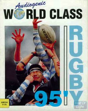 World Class Rugby '95 DOS front cover