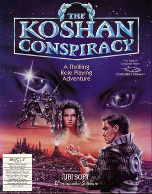 B.A.T. 2 : The Koshan Conspiracy DOS front cover