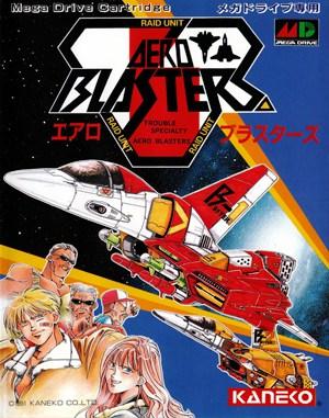 Air Busters Sega Genesis front cover