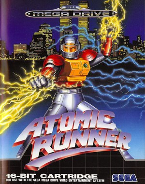 Atomic Runner Sega Genesis front cover