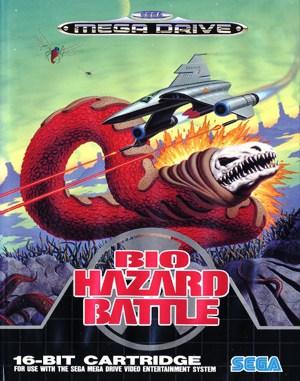 Bio Hazard Battle Sega Genesis front cover