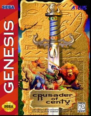 Crusader of Centy Sega Genesis front cover