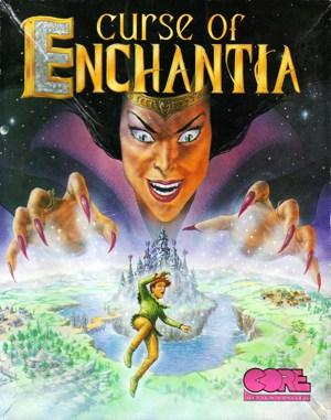 Curse of Enchantia (CD) DOS front cover