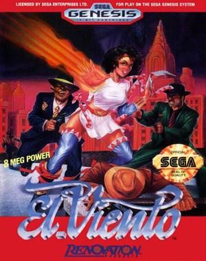 El Viento Sega Genesis front cover