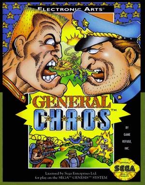 General Chaos Sega Genesis front cover