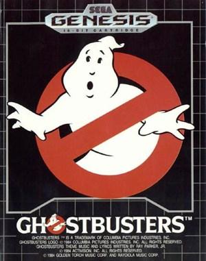 Ghostbusters Sega Genesis front cover