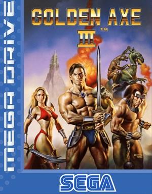 Golden Axe III Sega Genesis front cover