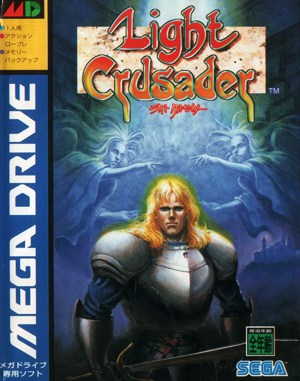 Light Crusader Sega Genesis front cover