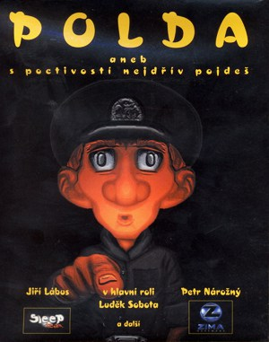 Polda DOS front cover