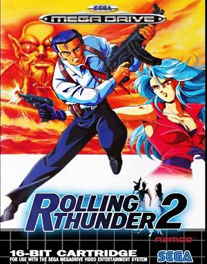 Rolling Thunder 2 Sega Genesis front cover