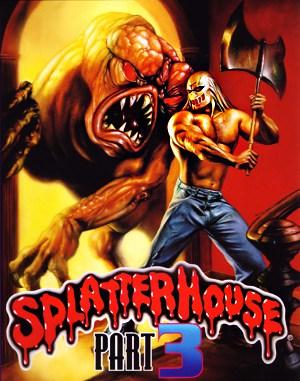 Splatterhouse 3 Sega Genesis front cover