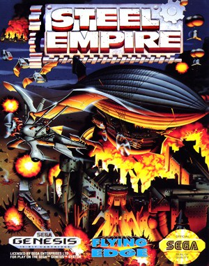 Steel Empire Sega Genesis front cover