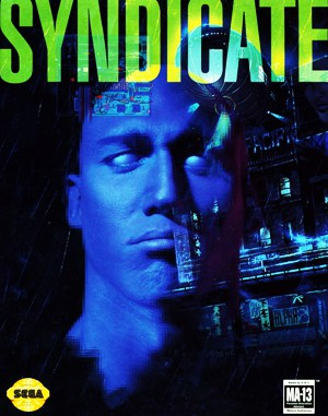 Syndicate Sega Genesis front cover