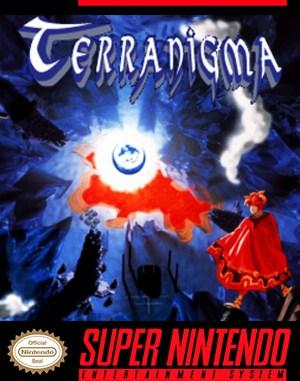 Terranigma SNES front cover
