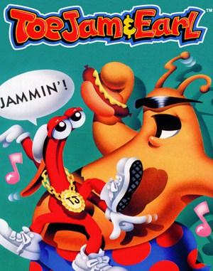 ToeJam & Earl Sega Genesis front cover