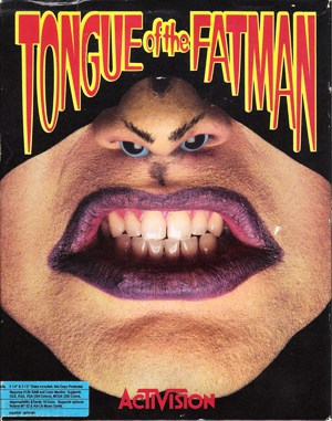 Tongue of the Fatman DOS front cover