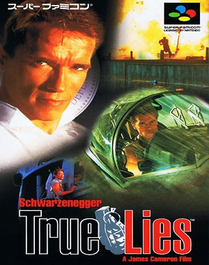 True Lies Sega Genesis front cover