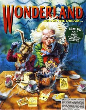 Wonderland DOS front cover