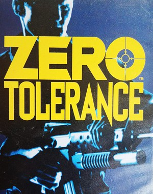 Zero Tolerance Sega Genesis front cover