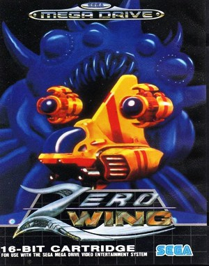 Zero Wing Sega Genesis front cover