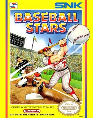 Baseball Stars NES  front cover