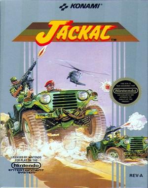 Jackal NES  front cover