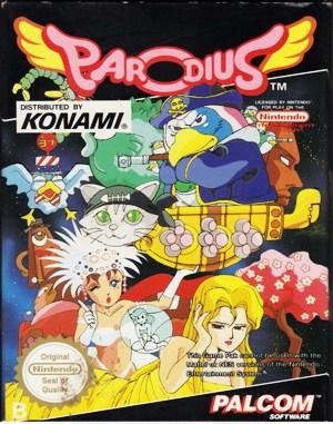 Parodius NES  front cover