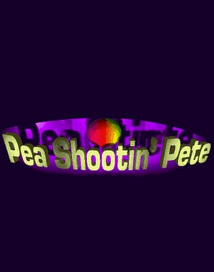Pea Shootin' Pete DOS front cover
