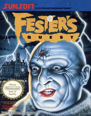 Fester's Quest NES  front cover