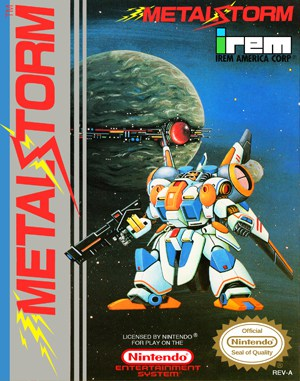Metal Storm NES  front cover