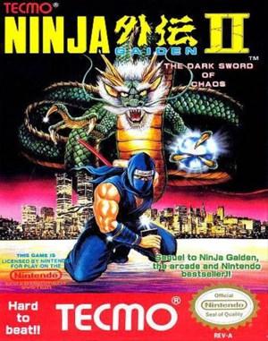 Ninja Gaiden II: The Dark Sword of Chaos NES  front cover