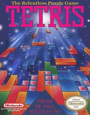 Tetris NES  front cover