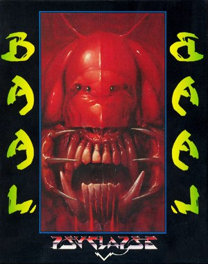 Baal DOS front cover