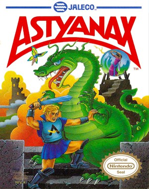 Astyanax NES  front cover