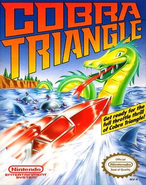 Cobra Triangle NES  front cover