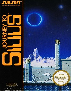 Journey to Silius NES  front cover